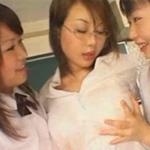 粘液最高!ふたなり女教師と女子校生の濃厚な絡み