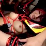 【アニコス】纏流子コスのむっちりセクシー美女が徹底的に調教を受ける動画!