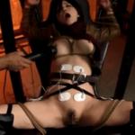 【アニコス】辻本りょうが縛り付けられ乳首、ま●こ、アナルを刺激される!