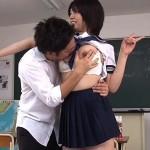 【女子校生】硬直スプレーでマネキンにしちゃった芦川芽依ちゃんを好き放題する!