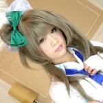 【アニコス】ラブライブのえりコスで可愛い着エロを見せてくれる美少女!!