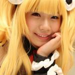 【アニコス】小鳩メイドコスのはるちゃんがとても可愛くフェラチオ頬張る!