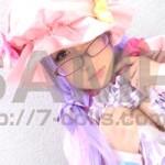 【東方コス】美尻のパチェリーコスの眼鏡美少女のお風呂でクリームプレイ!