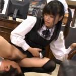 【メイド】変態ご主人様に顔面騎乗してMな欲望を満たすSなツインテールメイド!