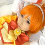 【アニコス】逢坂愛のプリキュアコスがクッソ可愛い!おっぱいもフワフワぽろーん!!