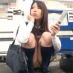 【女子校生】有村千佳の制服セックス!知り合いの年上男性とエッチしちゃうイケナイ関係です!