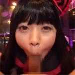 【アニコス】亜神様コスプレで本山茉莉が吸引強めのフェラチオで精子を搾り口内発射!