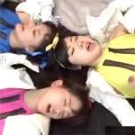 【ヒロイン】茉莉花みく・青山未来・綾瀬ことり達、戦隊ヒロインが着衣で乱交セックス!悪役達の精子もカラカラになるぅ!