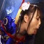 【ゲームコス】春麗コスプレで縛られて口と喉奥でチンポを気持ち良くしろ!!
