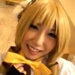 【アニコス】巴マミのコスプレした有村千佳ちゃんが月に一度の中出しオフ会開催!