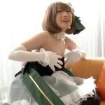 【アニコス】デレマス高垣楓コスプレの美女レイヤーのケツをさわさわした結果…