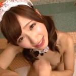 【メイド】天使もえが即尺得意なチンポ好きメイドさんになってご奉仕してます!
