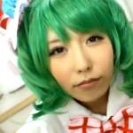 【アニコス】マクロスFのランカコスプレ着衣で有村千佳ちゃんがパコって悶絶!!