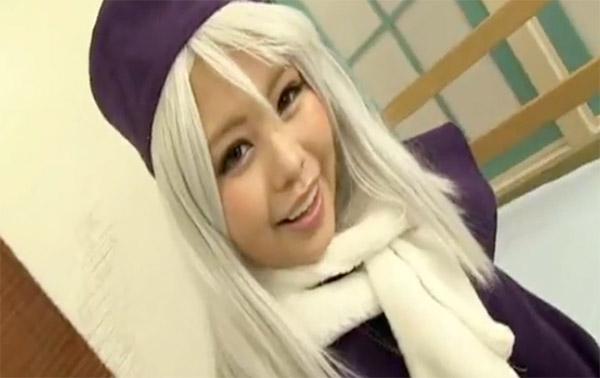 【アニコス】コスプレの素人女性のH動画。Fate/stay-nightのイリヤコスプレしたレイヤーさんの胸もオマンコも触りまくり!