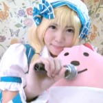 【アニコス】デレマス杏ちゃんのコスプレでオマンコとアナルを弄っている美尻のレイヤー!