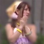【コスプレイヤー】現役レイヤーの桃園みらいちゃんが逆ナンして風俗プレイで着衣セックス!