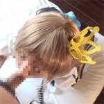 【アニコス】顔はモザ有りだけど濃厚に絡みチンポを愛している素人レイヤー!