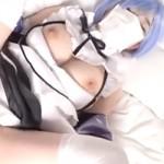 【アニコス】中出しハメ撮りされちゃったレムコスプレの巨乳むっちりレイヤー!