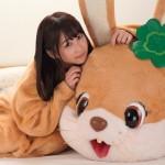 【VR】篠宮ゆりが着ぐるみ着衣セックス!アイドル級に可愛いロリ美女とイチャラブ!FANZA