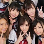 【VR】女子校生制服コスプレ 卒業旅行でパンチラ・着替え・乱交セックスを目の前で楽しむ!