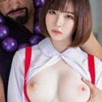 深田えいみがトイレの花子さんvs屈強退魔師の実写AVでガン突き中出しされるエロ動画!FANZA