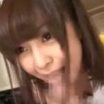 【チアガール】ロリ美少女が唾ローションたっぷりで手コキとフェラで抜く!
